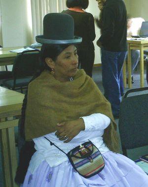 Ana Limachi  Amarc Bolivia