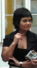 María Pía Matta,  Presidenta de AMARC ALC