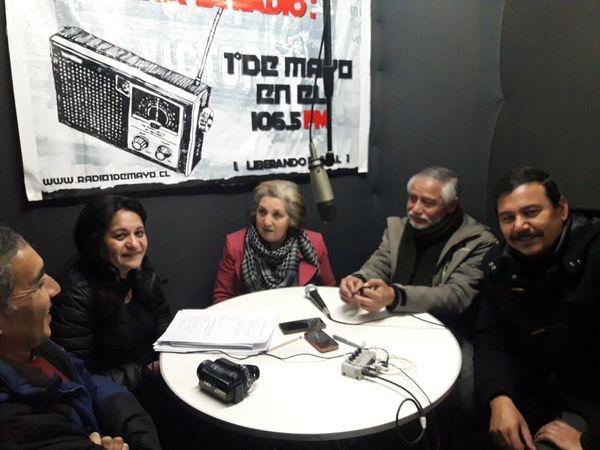 Amarc chile promueve diálogos para el fortalecimiento de la radiodifusión comunitaria en el pais.